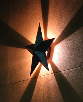 Star wall sconce 2