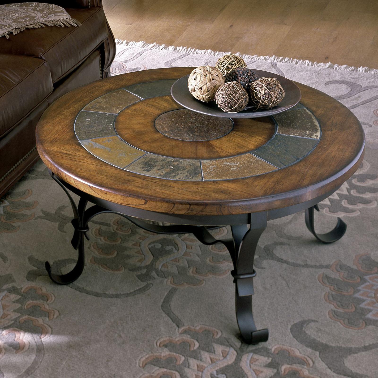 Wonderful Stone Forge Coffee Table Set 2