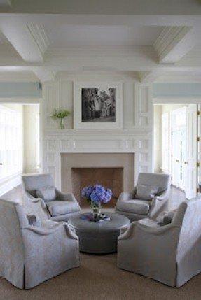 Upholstered Swivel Living Room Chairs - Foter