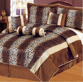 Leopard Print Comforter Set Queen Ideas On Foter