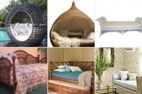 Wicker day beds