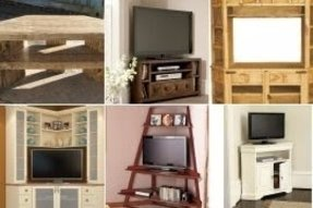 Wood Corner Tv Stands