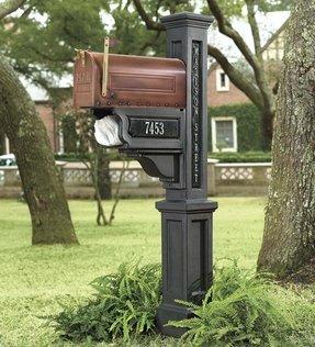 aluminum mailbox post. Aluminum Mailbox Posts Post