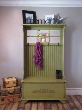 Whimsical Painted Coat Rack