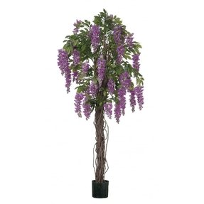 Artificial wisteria tree 14
