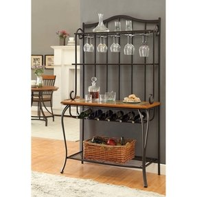 Bakers wine rack