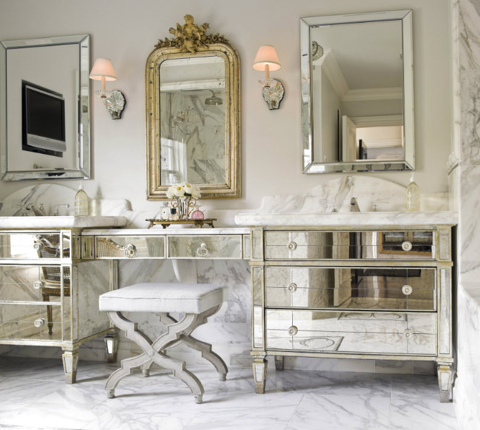 Delicieux Bathroom Makeup Stools
