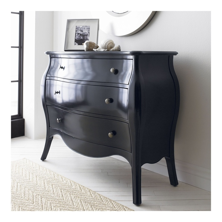 Bombe chest nightstand