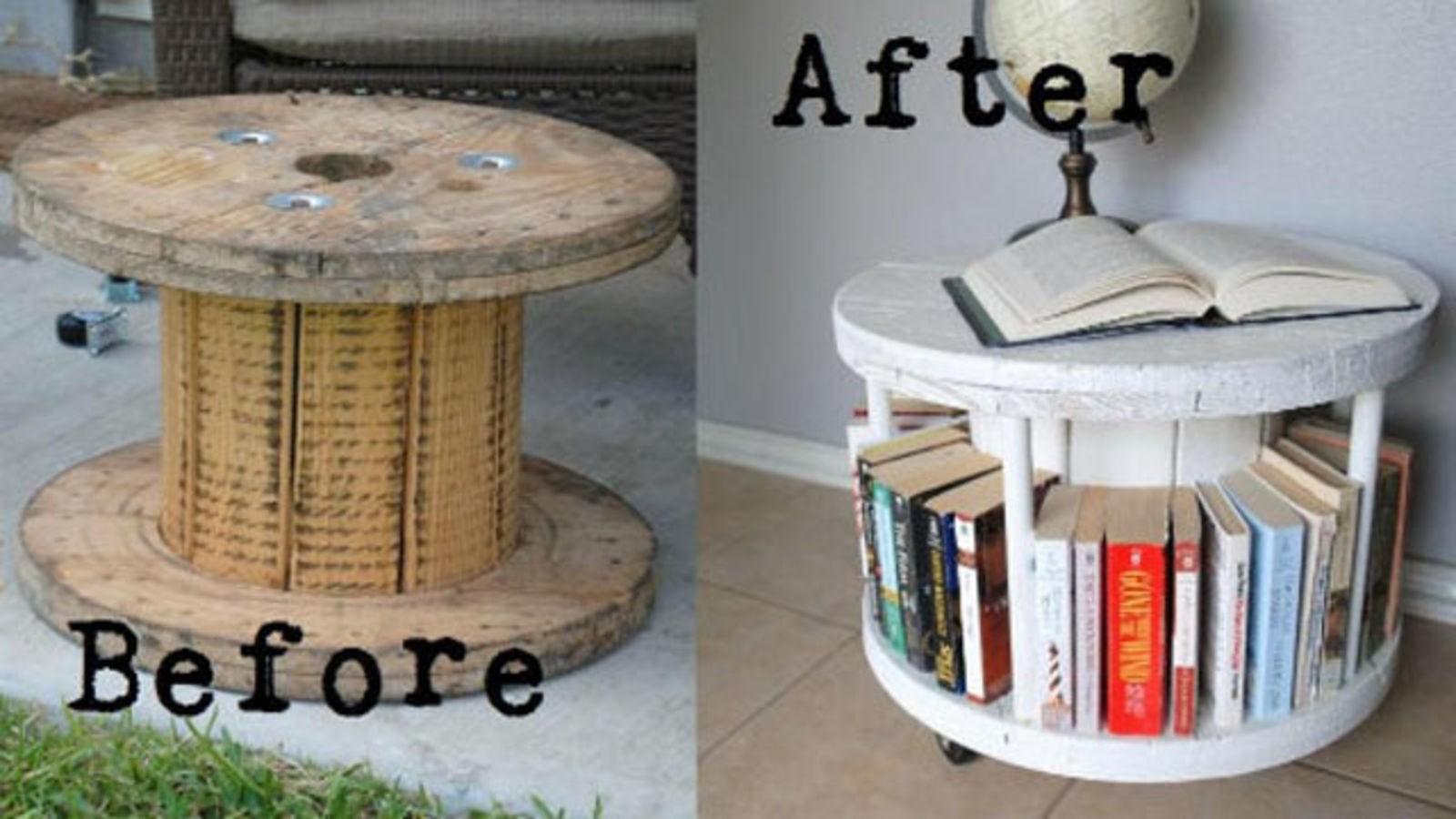 Nice Bookshelf Coffee Table