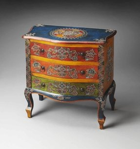 Butler Specialty Artifacts Farhana Hand Painted Accent Chest