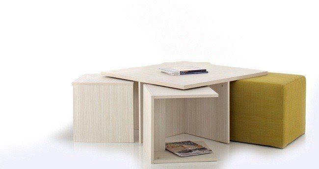 Coffee Table With Seating Underneath