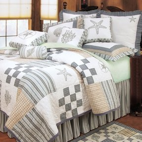 Nautical Bedding King - Foter