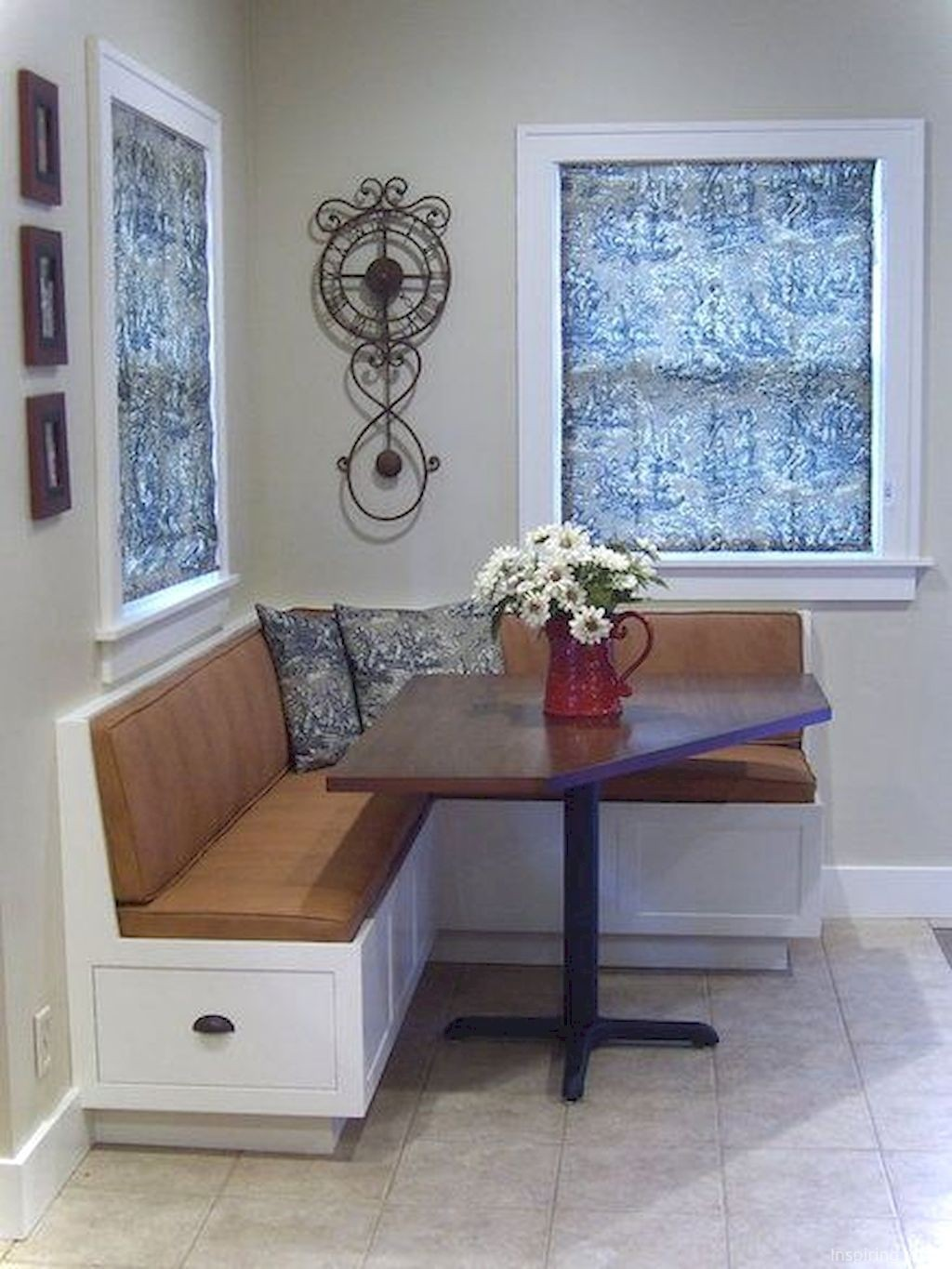 corner dining bench with round table> OFF 9