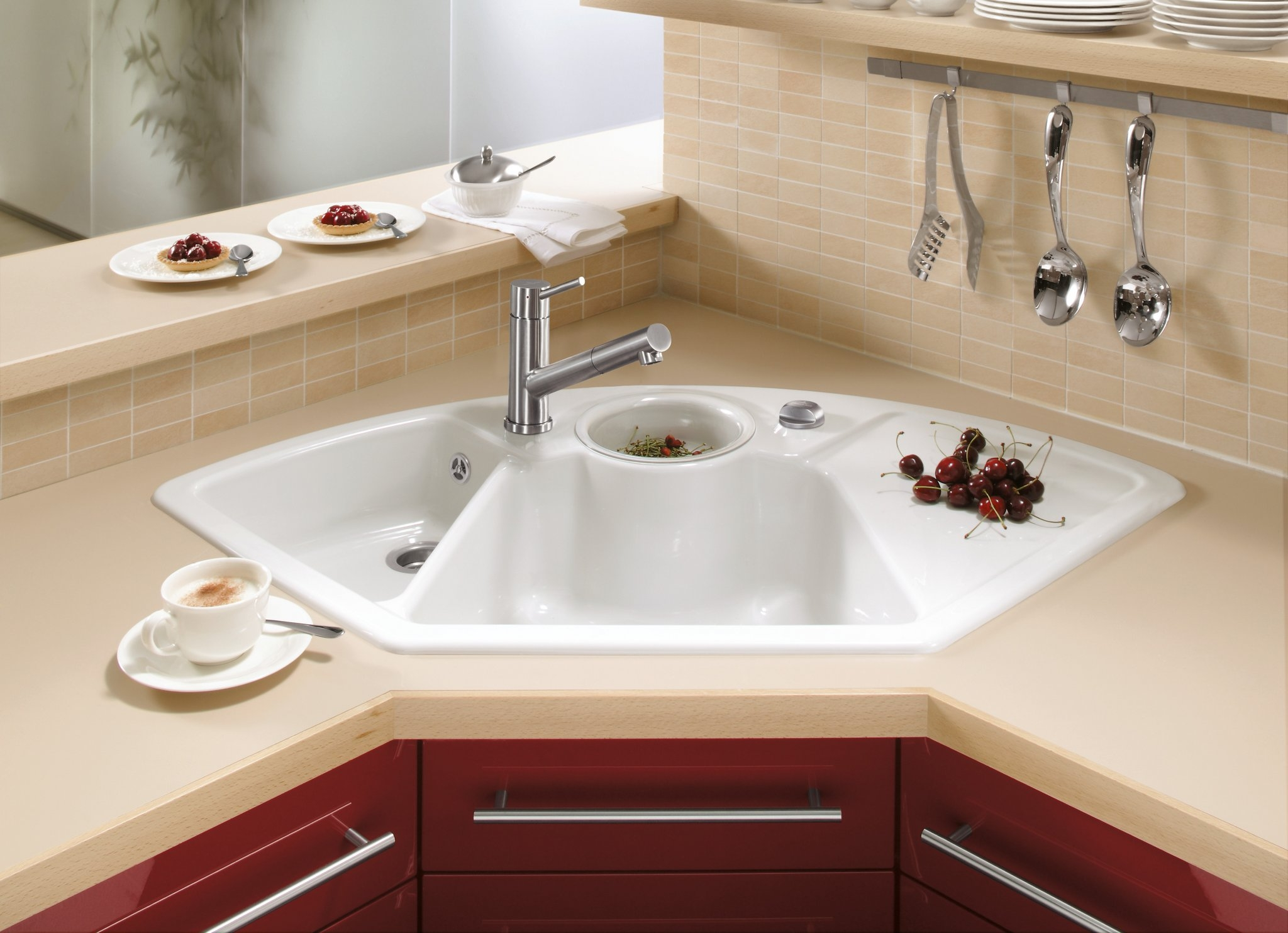 Corner Kitchen Sinks Undermount 2