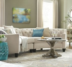Curved Sectional Couch - Foter