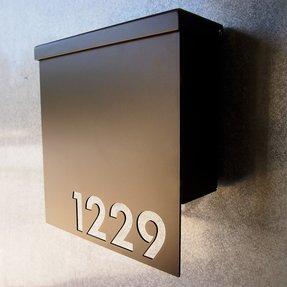 Modern Wall Mount Mailboxes Foter