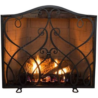 Decorative Fireplace Screens Wrought Iron Ideas On Foter