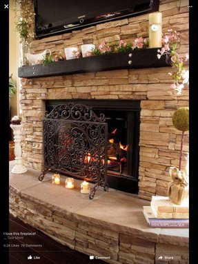 Disney fireplace screen