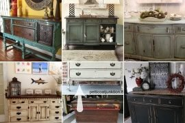 Beau Distressed Buffet Table