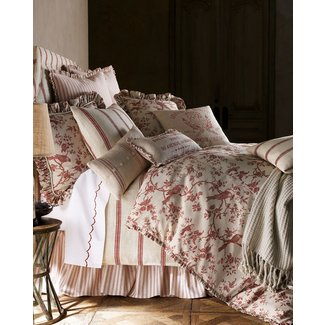 Dorma toile blue bed linen