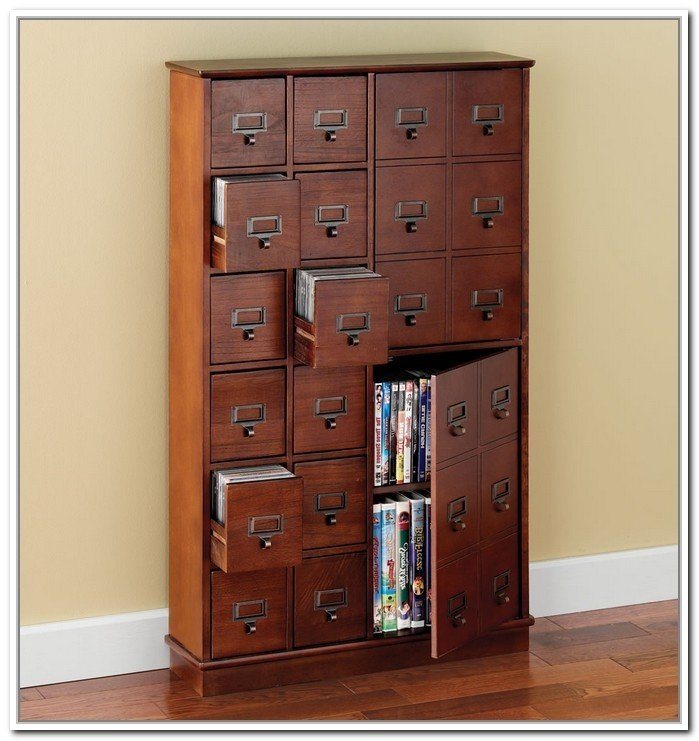 Dvd Storage Cabinets Wood Ideas On Foter