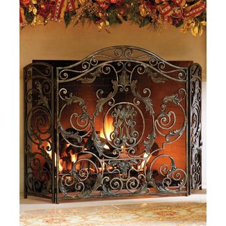 e18e90a2efc Decorative Fireplace Screens Wrought Iron - Ideas on Foter