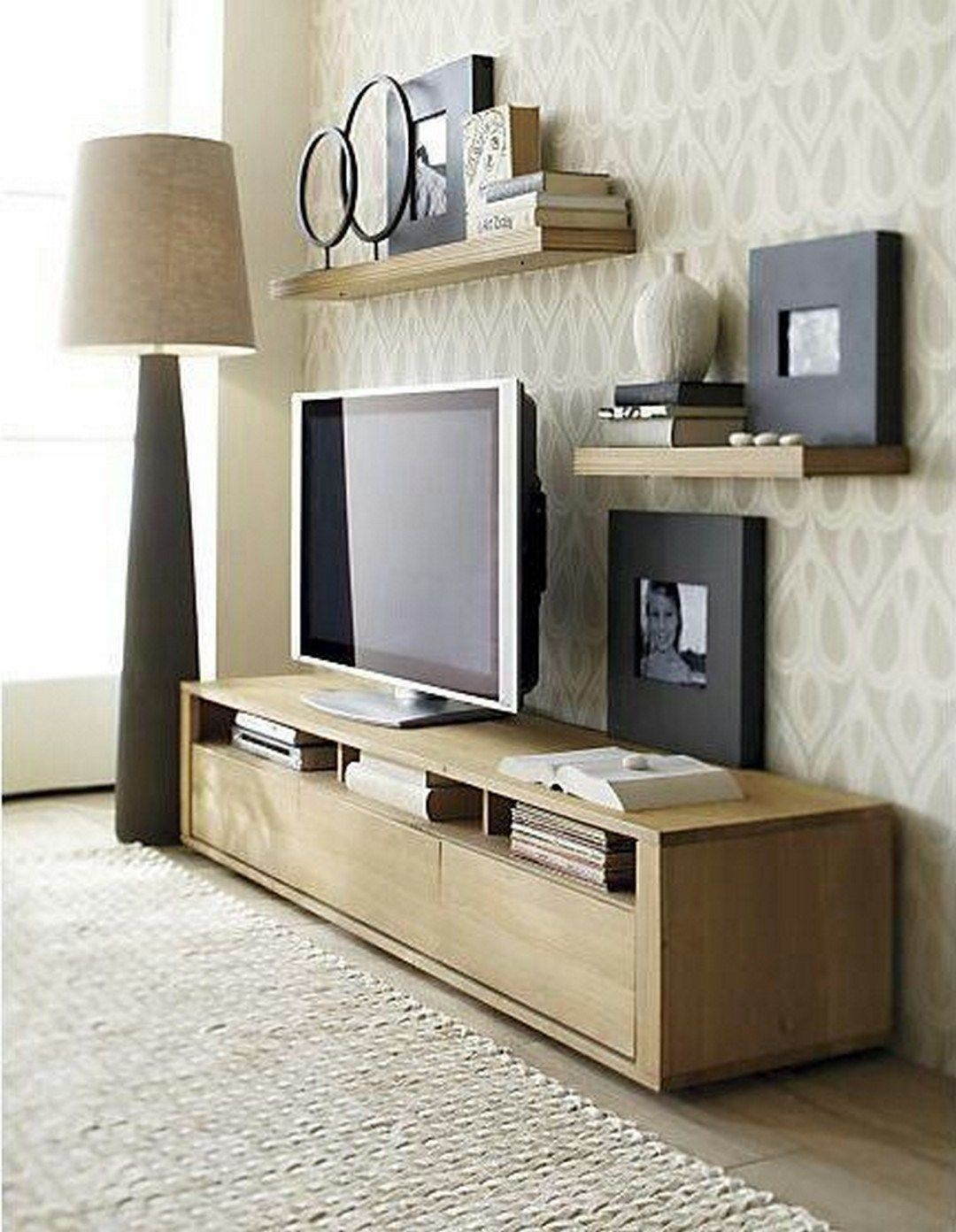 Superb Flat Screen Tv Wall Cabinet