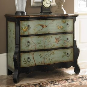 Hammary Hidden Treasures Accent Bombe Chest