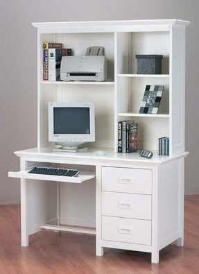 Kids Computer Desk With Hutch