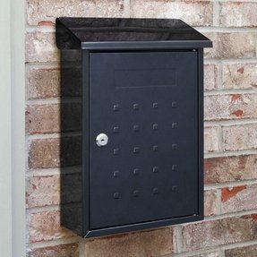Locking wall mount mailboxes 1