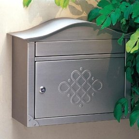 Locking wall mount mailboxes 16