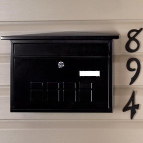 Locking wall mount mailboxes 23