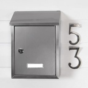 Locking wall mount mailboxes 26