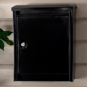 Locking wall mount mailboxes 28