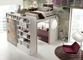 Bunk Bed Bookshelf Ideas On Foter