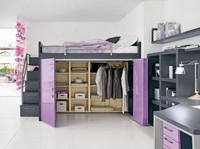 explore storage bed with loft foter beds underneath