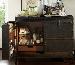 Ludlow trunk bar cabinet 1