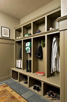 A Multifunctional Cubby Which Creates An Ideal E For Clothes And Shoe Storage Combining The Features Locker This Built In Wardrobe Is