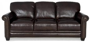 Leather Sofas With Nailhead Trim Foter