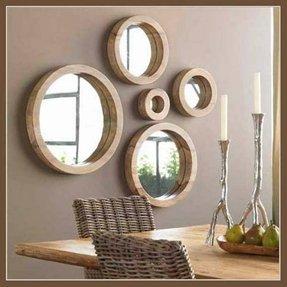 Round Mirror Black Frame Foter