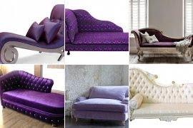 Superieur Purple Chaise Lounge Chair