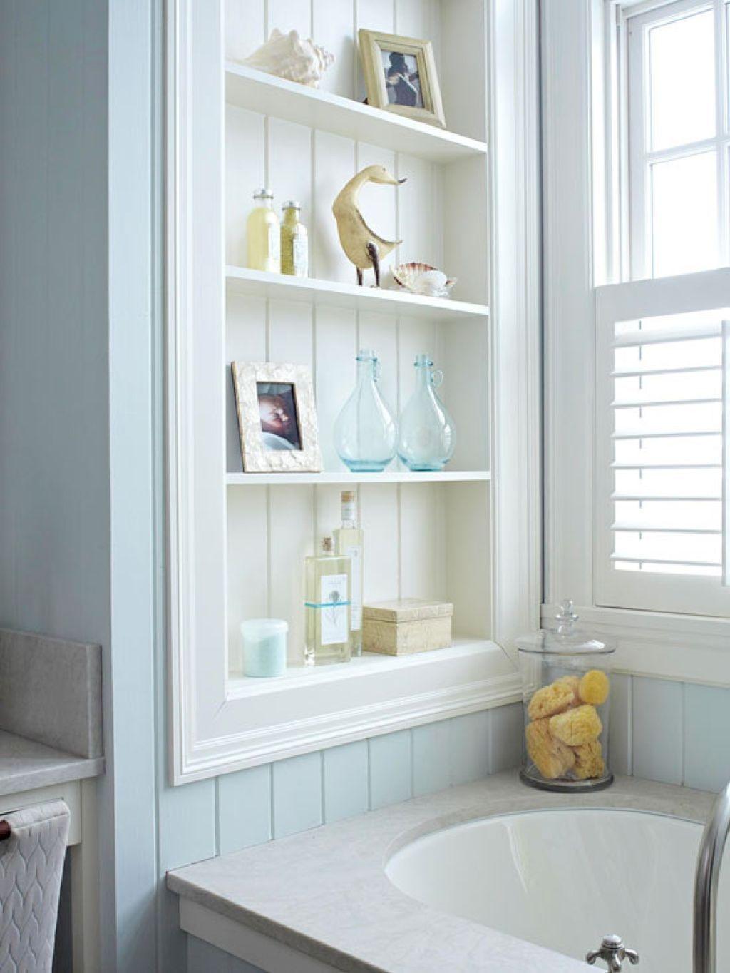 Recessed Medicine Cabinet White