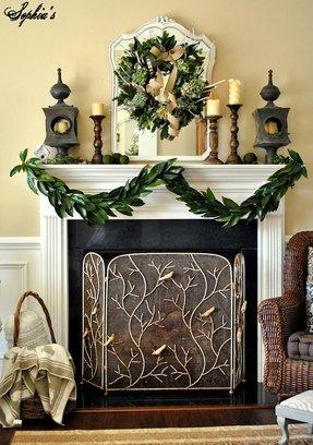 Decorative Fireplace Screens Wrought Iron Foter