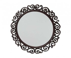 Round Mirror Wood Frame Ideas On Foter