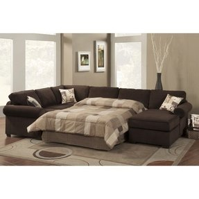Leather Sectional Sleeper Sofa With Chaise - Ideas on Foter