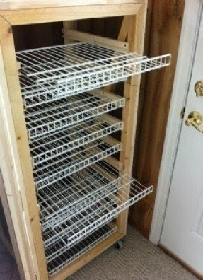 Shoes storage cabinet with doors