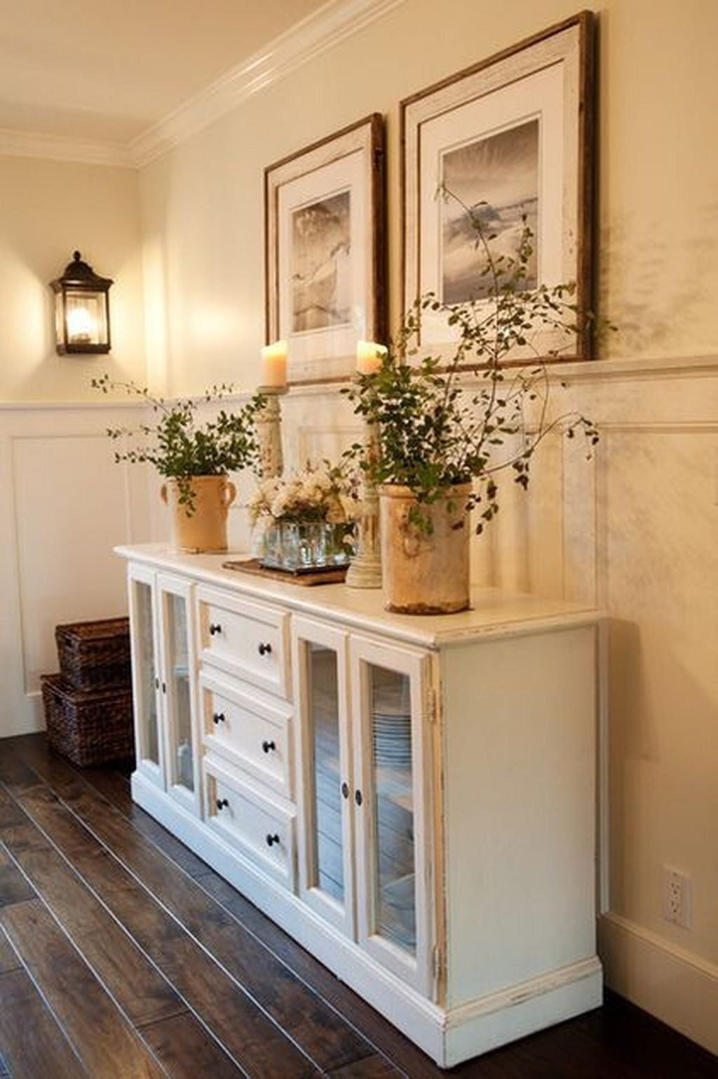 sideboards and buffets with glass doors foter rh foter com Buffet Console Table with Glass Doors Glass Front Sideboard