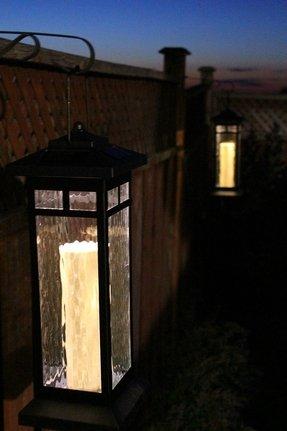 Solar Lantern Post Foter