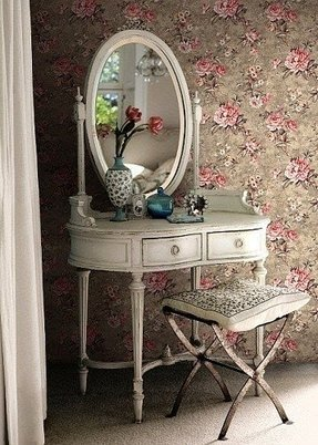 Stool for makeup vanity