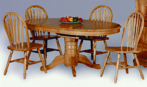 5e5618309eda Sunset Trading Sunset Trading Fairmont Oval Butterfly Table